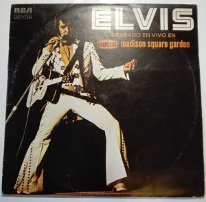 Elvis As Recorded At Madison Square Garden 2xLP słaby