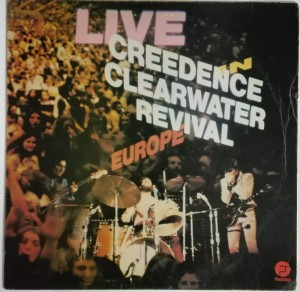 Creedence Clearwater Revival - Live In Europe LP winyl stan bardzo dobry