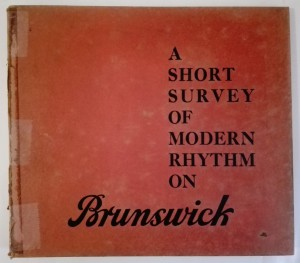 Album A Short Survey Of Modern Rhythm On Brunswick 8 płyt