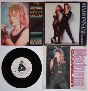 Madonna Sammy Hagar Black 'N Blue 4 single