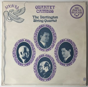 The Dartington String Quartet LP SARB01 DB