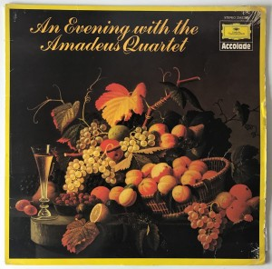 An Evening With The Amadeus Quartet LP 2542159 BDB