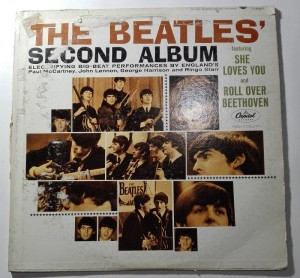 The Beatles' Second Album LP winyl stan słaby