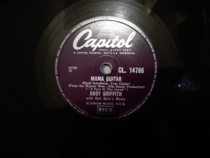 Andy Griffith - Mama Guitar / A Face In The Crown Capitol