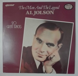 Al Jolson - The Man And The Legend 1 LP winyl stan dosk