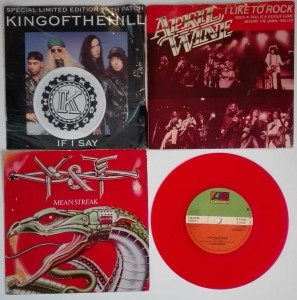 4 single - King Of The Hill/April Wine/Y & T/Foreigner