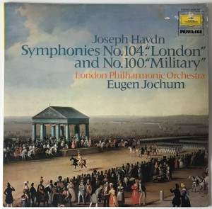 Haydn - Symphonies Nos.104 And 100 LP 2535347 DB