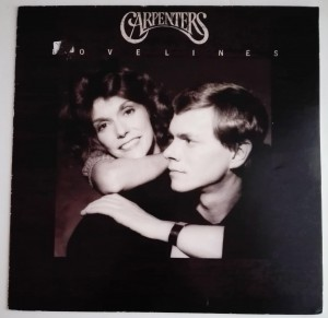 Carpenters - Lovelines LP vinyl very good