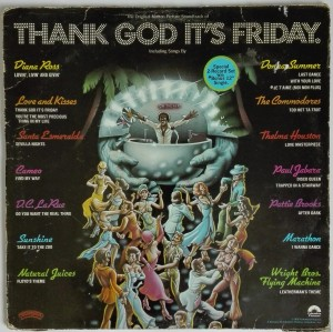 Thanks God It's Friday the original soundtrack LP winyl stan bardzo dobry
