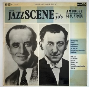 Ambrose / Lew Stone - London Jazz Scene The 30's LP bdb