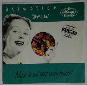 "Animotion - Obsession (MIX) 12"" SP winyl stan idealny"