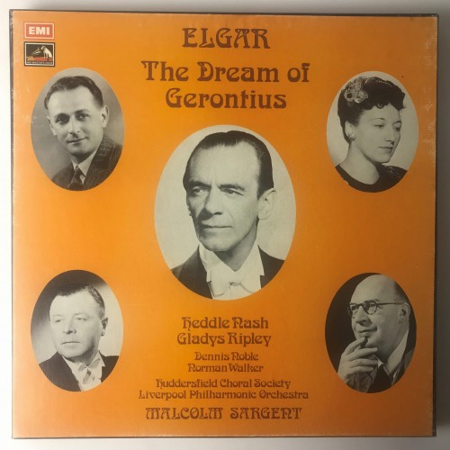 RLS709 Elgar - Liverpool Philharmonic Orchestra Conducted By Sir Malcolm Sargent, Huddersfield Choral Society The Dream Of Gerontius.JPG