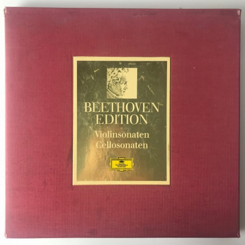 2720018 Beethoven Beethoven Edition 1970 Violin- Und Cellosonaten.JPG