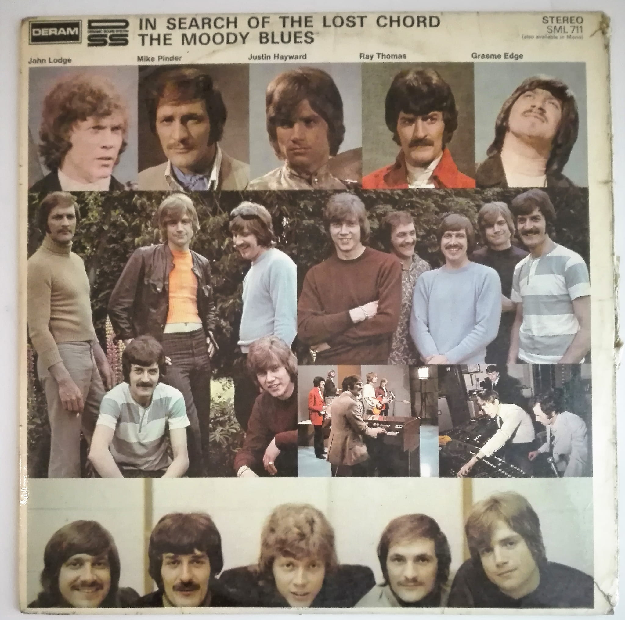 The Moody Blues In Search of the Lost Chords LP kiepski